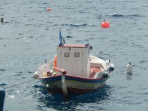 Śródziemnomorska łódź fotografia stock