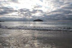 Śródziemnomorska magaluf plaża Obrazy Stock