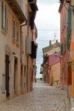 Śródziemnomorska ulica Zdjęcia Stock