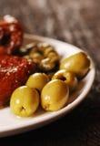 Śródziemnomorski jedzenie fotografia stock