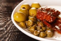 Śródziemnomorski jedzenie zdjęcie royalty free