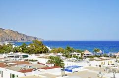 śródziemnomorski miasteczko zdjęcia royalty free