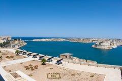 Śródziemnomorski schronienie Malta zdjęcia royalty free
