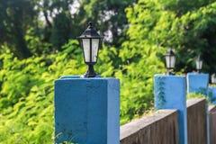 Śródziemnomorski styl ścienna lampa Obrazy Royalty Free