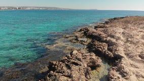 Śródziemnomorski wybrzeże Cypr, czerep zbiory