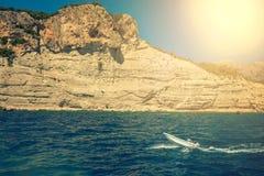 Śródziemnomorski wybrzeże, Indyczy Kemer Obrazy Stock