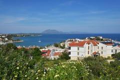 Śródziemnomorski wybrzeże w Datca, Turcja Fotografia Stock