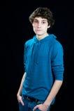 Średnia nastoletnia chłopiec obrazy stock
