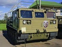 Średniej artylerii ciągnik ATS-59G. zdjęcia royalty free