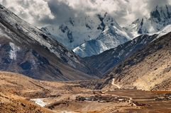 średniogórza tybetańskiej Obraz Royalty Free