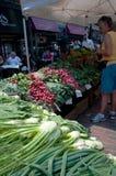 średniorolni świeżego rynku s veggies Zdjęcia Royalty Free
