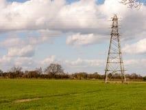 Średniorolny ` s pole na początku wiosny Obraz Royalty Free