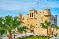 Średniowieczna architektura Aleksandria, Egipt zdjęcia royalty free