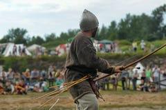 Średniowieczna bitwa xiii wiek fotografia royalty free
