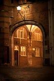 Średniowieczna brama miasto fotografia royalty free