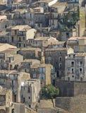 średniowieczna Calabria wioska obraz royalty free