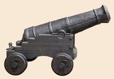 Średniowieczna działo prochu artyleria w wiekach średnich Obraz Stock