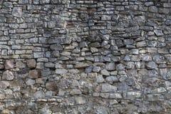 średniowieczna kamienna ściana Fotografia Royalty Free