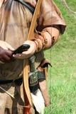 średniowieczna komunikatu zdjęcie stock