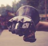 Średniowieczna rękawica Zdjęcia Stock
