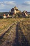 Średniowieczna Rupea cytadela, Rumunia fotografia royalty free