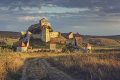 Średniowieczna Rupea cytadela, Rumunia obraz royalty free
