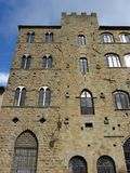 Średniowieczna Volterra Architektura Włochy Zdjęcie Stock