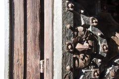 Średniowieczne bramy obraz royalty free