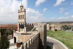 Średniowieczne miasto ściany Avila, Hiszpania Obrazy Stock