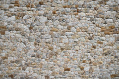 Średniowiecznego starego ściennego tekstury tła unikalna powierzchowność Zdjęcie Royalty Free