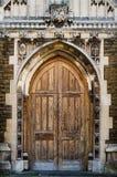 Średniowieczni dzwi wejściowy Obraz Stock