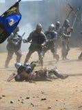 średniowieczni rycerze, Fotografia Stock