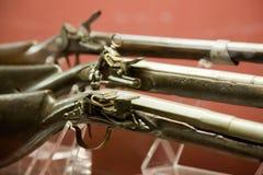 średniowieczni zbliżenie pistoleciki Obrazy Stock
