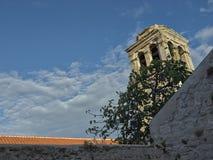 Średniowieczny śródziemnomorski ogród Zdjęcie Stock