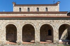 Średniowieczny Święty Czterdzieści męczenników kościół - Wschodni Ortodoksalny kościół budujący w 1230 w miasteczku Veliko Tarnov zdjęcia stock