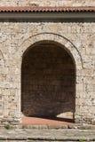Średniowieczny Święty Czterdzieści męczenników kościół - Wschodni Ortodoksalny kościół budujący w 1230 w miasteczku Veliko Tarnov obrazy royalty free