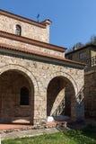 Średniowieczny Święty Czterdzieści męczenników kościół - Wschodni Ortodoksalny kościół budujący w 1230 w miasteczku Veliko Tarnov zdjęcia royalty free