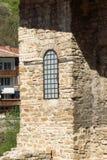 Średniowieczny Święty Czterdzieści męczenników kościół - Wschodni Ortodoksalny kościół budujący w 1230 w miasteczku Veliko Tarnov fotografia stock