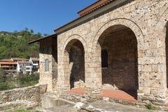Średniowieczny Święty Czterdzieści męczenników kościół - Wschodni Ortodoksalny kościół budujący w 1230 w miasteczku Veliko Tarnov fotografia royalty free