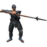średniowieczny żołnierz Obrazy Royalty Free