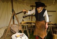 Średniowieczny blacksmith Zdjęcia Royalty Free