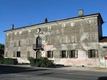 średniowieczny budynku włoch Fotografia Royalty Free