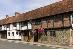 Średniowieczny chrustowy dom w Piątek ulicie, Henley na Thames Zdjęcia Royalty Free