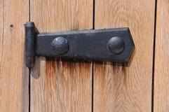 Średniowieczny Drzwiowy zawias Zdjęcia Royalty Free