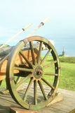 średniowieczny działa artyleryjski pole Zdjęcia Stock