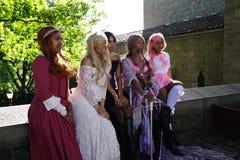 2015 Średniowieczny festiwal Przy fortu Tryon parka część 2 18 Obraz Royalty Free