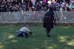 2015 Średniowieczny festiwal Przy fortu Tryon parka część 2 84 Obraz Stock