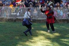 2015 Średniowieczny festiwal Przy fortu Tryon parka część 2 86 Zdjęcie Royalty Free