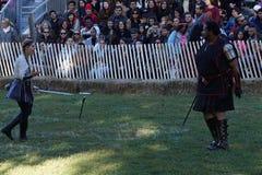 2015 Średniowieczny festiwal Przy fortu Tryon parka część 2 92 Fotografia Stock