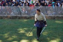 2015 Średniowieczny festiwal Przy fortu Tryon parka część 2 98 Obrazy Stock